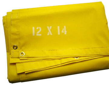 10 Oz Fire Resistant Salvage Covers Vinyl Nfpa 701