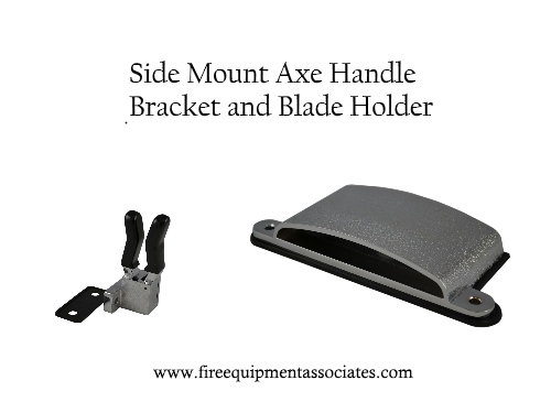 Fire Axe Blade Holder And Mounting Bracket
