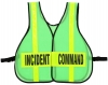 Command Vest with Front and Back Panel
