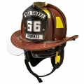 Cairns N6A : Sam Houston Leather Helmet with Bourkes