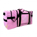 Jumbo Pink Gear Bag with Reflective Stripes